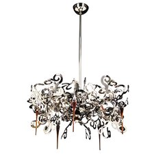 Exos 10 Light Chandelier