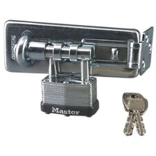 Warded Hasp Lock