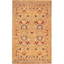 Harvest Moon Himalayan Sheep Flowers Rug