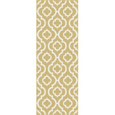 Metro Yellow Moroccan Tile Rug