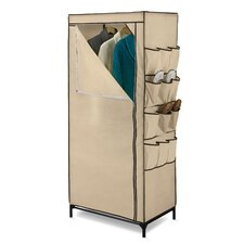 Storage Closet with Shoe Organizer
