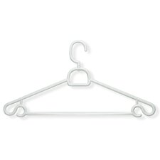 Tubular Hanger in White (30 Pack)