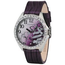 Women's Starlet Cross Watch in Purple