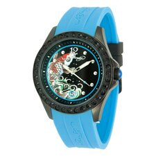 Women's Techno Watch in Blue
