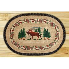 Moose Woods Novelty Rug