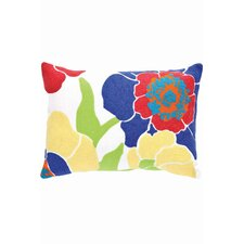 Fresh American Poppy Polypropylene Pillow