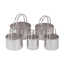 5-Piece Round Cookie Cutter Set
