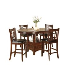 Counter Height Dinette 5 Piece Set