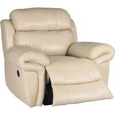 Motion Apollo Leather Chaise  Recliner