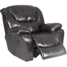 Motion Hercules Leather Chaise  Recliner