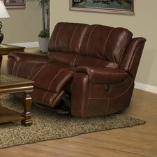 Motion Titan Leather Recliner Loveseat