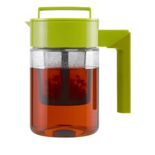 24 Oz Tea Maker with Avocado Lid and Silicone Handle in Olive