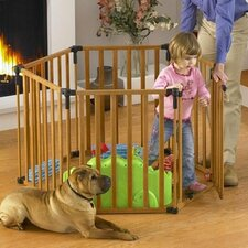 3-in-1 Wood Superyard Gate