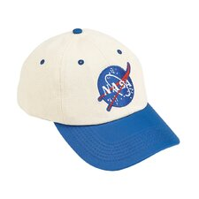 Jr. Flight Cap in Blue and White