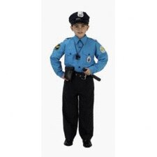 Jr Police Officer Suit Toddler Costume