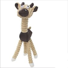 Jute and Rope Giraffe Dog Toy
