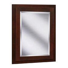 "Vintage Series 24"" x 30"" Maple Surface Mount or Recessed Medicine Cabinet in Burgundy Finish"
