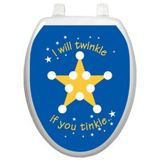 Toilet Training Twinkle Star Toilet Seat Decal