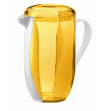 Happy Hour Two Toned Pitcher in Yellow