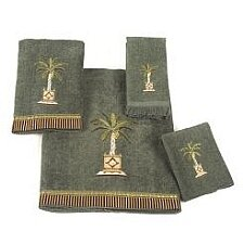 Banana Palm 4 Piece Towel Set