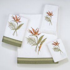 Bird of Paradise 4 Piece Towel Set