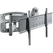 "Universal Articulating Dual-Arm with Vertical Adjustment for Flat Panel Screens (42"" - 60"" Screens)"
