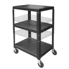 Jumbo Height-Adjustable Cart