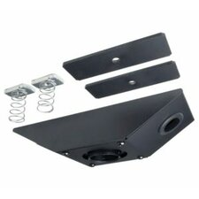 Vibration Absorber for LCD Projector Mounts for Unistrut Ceiling
