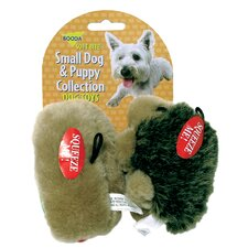 Small Hedgehog and Hotdog Dog and Puppy Toy