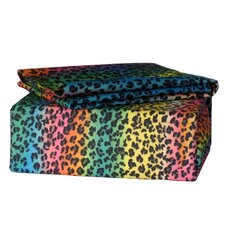 Rainbow Leopard Sheet Set