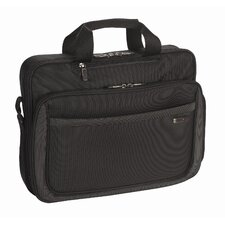 Sterling Laptop Slim Briefcase in Black