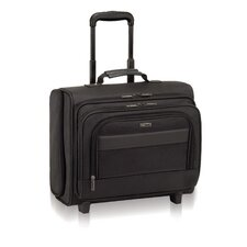 Classic Rolling Overnighter Laptop Briefcase