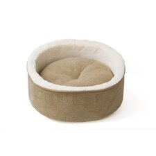 Rhino Skin Kitty Kup Cat Bed in Tan