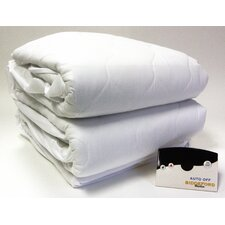 Heated 50% Cotton Mattress Pad with Digital Controller