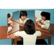 3-Panel Ultra-Safe Glassless Mirror