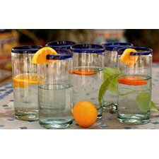 Cobalt Classics Drinking Glasses (Set of 6)