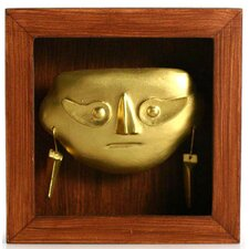 Shadow Box Lambayeque Mask