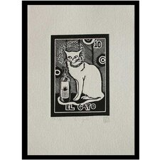 'Tequila Lotto the Cat' Wall Art