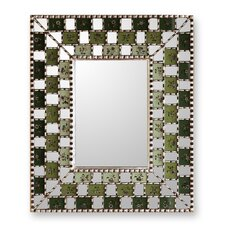 The Marcos Luzalde Reverse Painted Glass Mirror