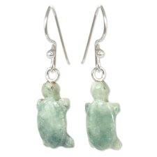 The Ruben and Gilda Perez Jade Dangle Earrings