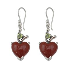 The Shanker Heart Dangle Earrings