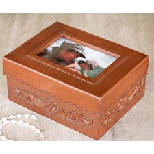 The Abel Rios Leather and Mohena Wood Picture Frame Box