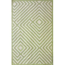 Couture Kilim Diamond Green Rug