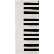 Cine Piano White Rug