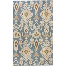 Marbella Faded Antique Light Blue Rug