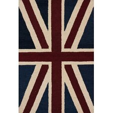 Marbella Union Jack Denim Novelty Rug