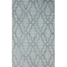 Brilliance Grey Viv Plush Rug