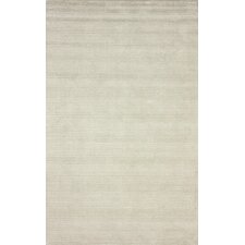 Goodwin Ivory Solid Plush Rug