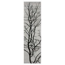 Pop Tree Branches Grey Rug
