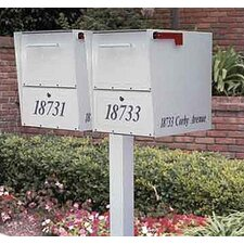 Oasis Duo Double Column Mounted Mailbox